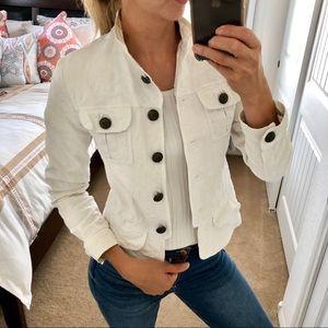 Zara White blazer size 4